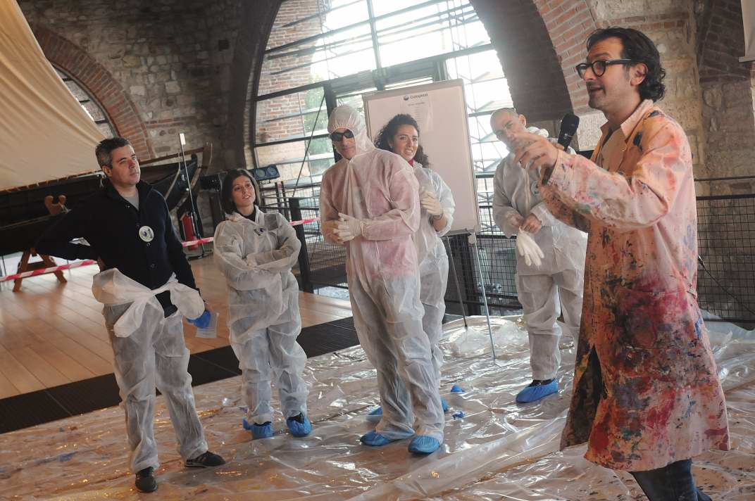 Incentivazione - Active Painting -Briefing - Team Building Verona