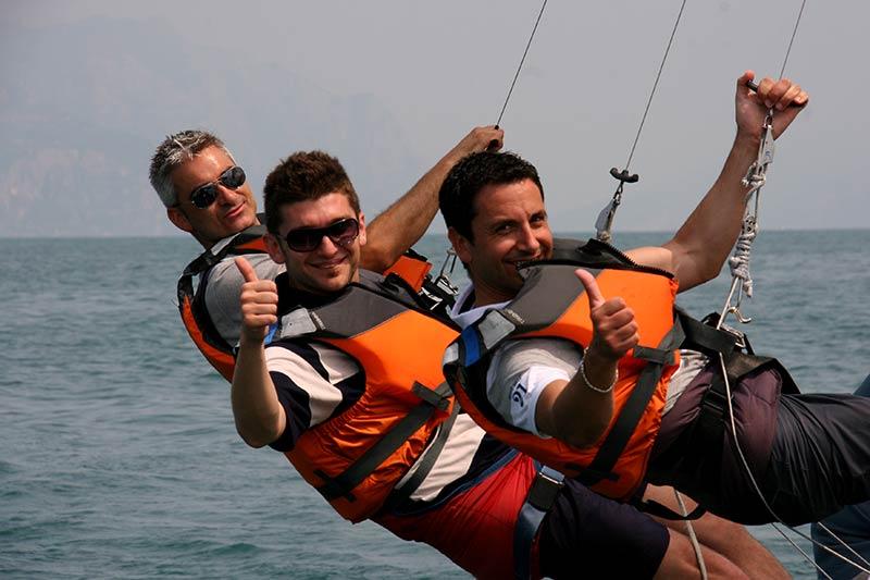 Team Building Verona - Incentivazione - Sailing challenge - regata velica - lago di Garda - verona - veneto - barca a vela
