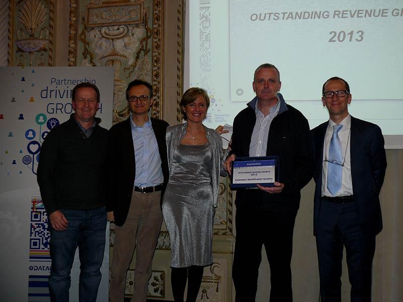 Premiazioni Active Painting Datalogic 6 Febbraio 2014 Bologna