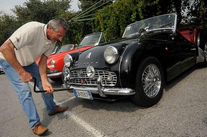 team building verona - incentivazione - Tour auto d'epoca - Lago di Garda