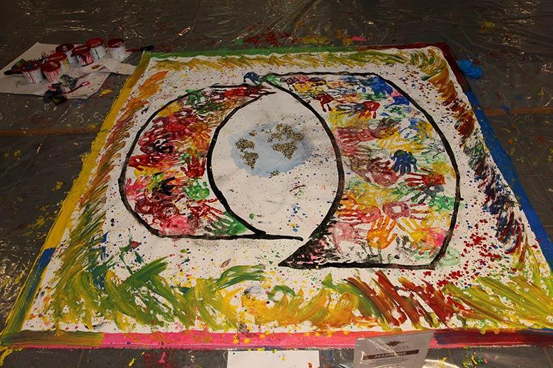 Active painting, team building, team building verona, orthofix, formazione, incentivazione, pennelli, pittura emozionale,