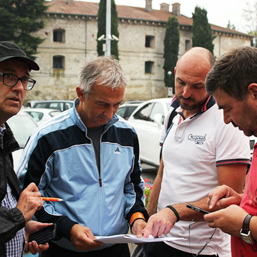 Team Building Verona Geocaching