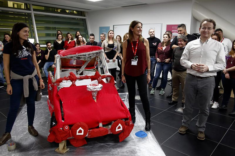 Team Building Verona Smart Car
