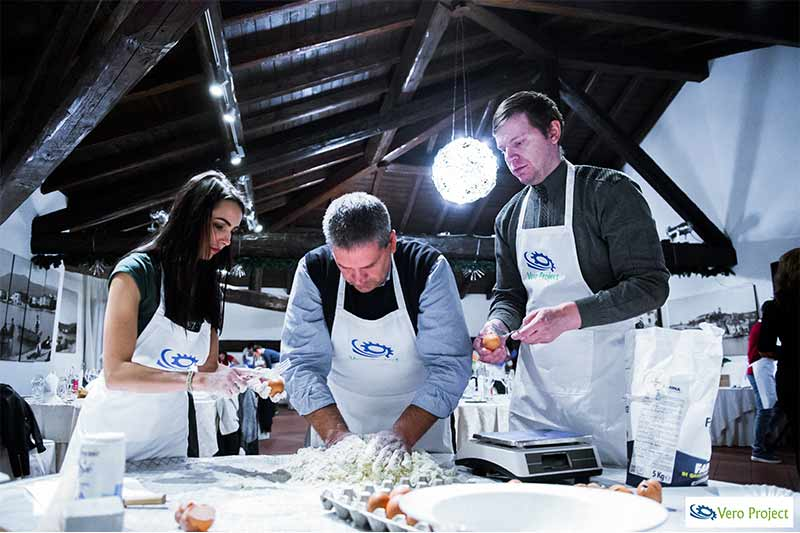 Team Building Verona Team Cooking